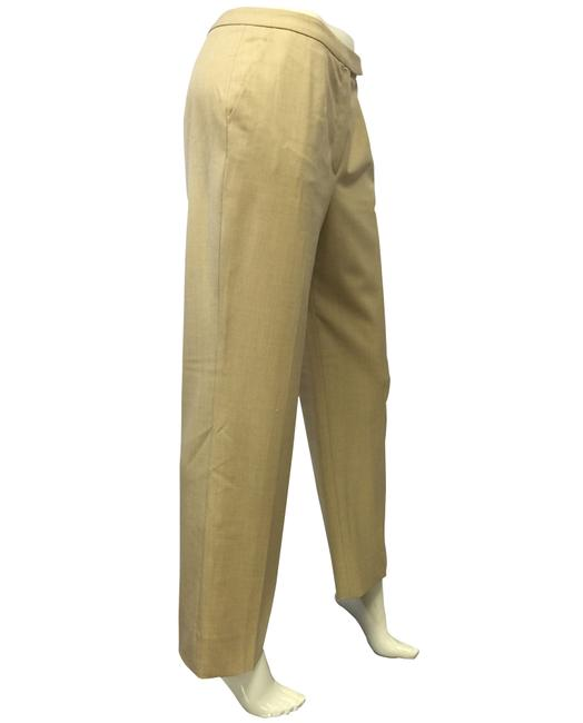 Escada Light Weight Creamy Khaki Pants
