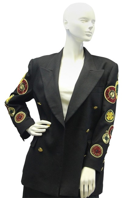 Preload https://item5.tradesy.com/images/escada-rare-collectible-clock-patches-1980-s-vintage-jacket-blazer-size-os-one-size-10249894-0-1.jpg?width=400&height=650