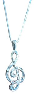 Other G Cleff Music Note 925 Sterling Silver
