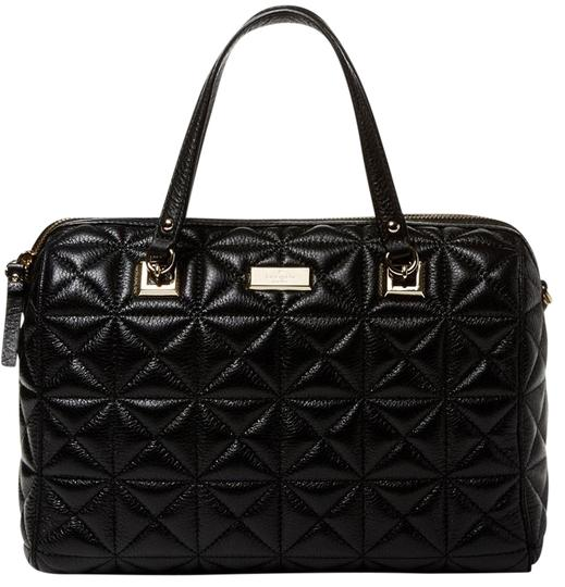 Preload https://img-static.tradesy.com/item/10250170/kate-spade-sedgewick-place-kensey-quilted-black-leather-satchel-0-7-540-540.jpg
