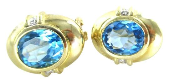 Preload https://item5.tradesy.com/images/gold-14kt-solid-yellow-blue-topaz-earrings-1025049-0-0.jpg?width=440&height=440
