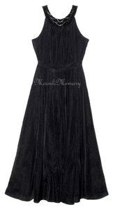 Soft Surroundings New Without Tags Full Length Maxi Beaded Halter Dress