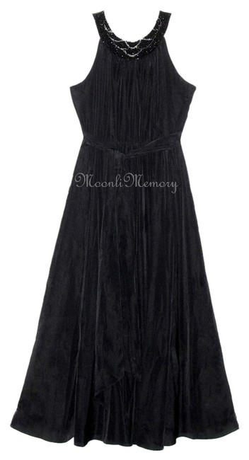 Preload https://item4.tradesy.com/images/soft-surroundings-black-maxi-gown-l-large-16-full-long-formal-dress-size-14-l-10250968-0-1.jpg?width=400&height=650