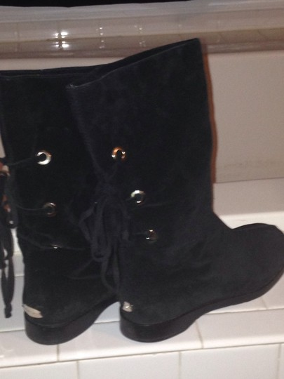 Jimmy Choo black boots Suede Women black Boots