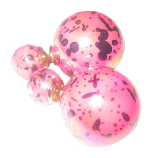 Preload https://item5.tradesy.com/images/pink-double-sided-faux-pearl-earrings-10251184-0-1.jpg?width=440&height=440