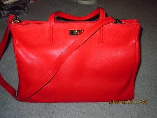 Russell & Bromley Russellbromley Classic Tote in RED