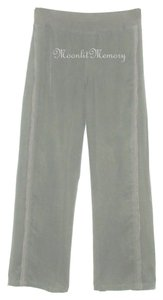 Soft Surroundings Pull On Slacks Elastic Waist Wide Leg Pants Taupe