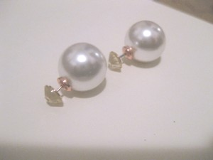 Other Double sided faux pearl earrings