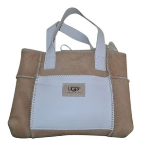 UGG Australia Satchel in Tan&White