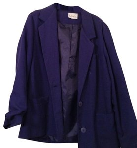 Via Spiga Blue Work Navy Blazer