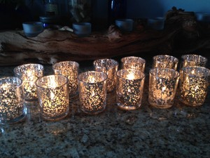 Silver Custom Listing For Debby H Votive/Candle