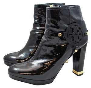 Tory Burch Black Patent Boots