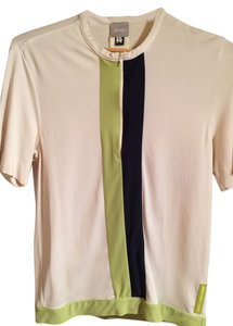 Versace Collection Top White/Green