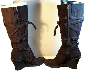 Enzo Angiolini Dark Brown Boots