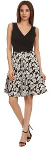 Gilligan & O'Malley short dress Black Ivory on Tradesy