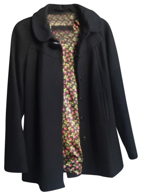 Preload https://item5.tradesy.com/images/black-pea-coat-size-4-s-10257244-0-3.jpg?width=400&height=650