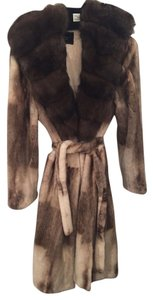 Mink Sable Fur Sherad Mink Fur Coat