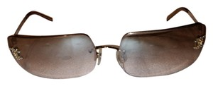 Chanel REDUCED PRICE....Chanel 1404-B Crystal CC logo Metal and plastic Sunglasses