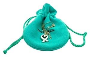 Tiffany & Co. Tiffany & Co. Sterling Silver Paloma Picasso Loving Heart Necklace, 16in