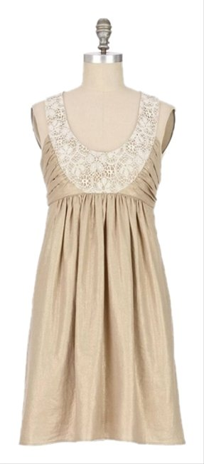 Anthropologie champagne sweet olive shift dress 69 off for Anthropologie wedding guest dresses