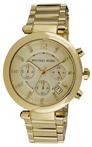 Michael Kors Michael Kors MK5276 Women's Parker Gold tone Bracelet Watch NEW! $225