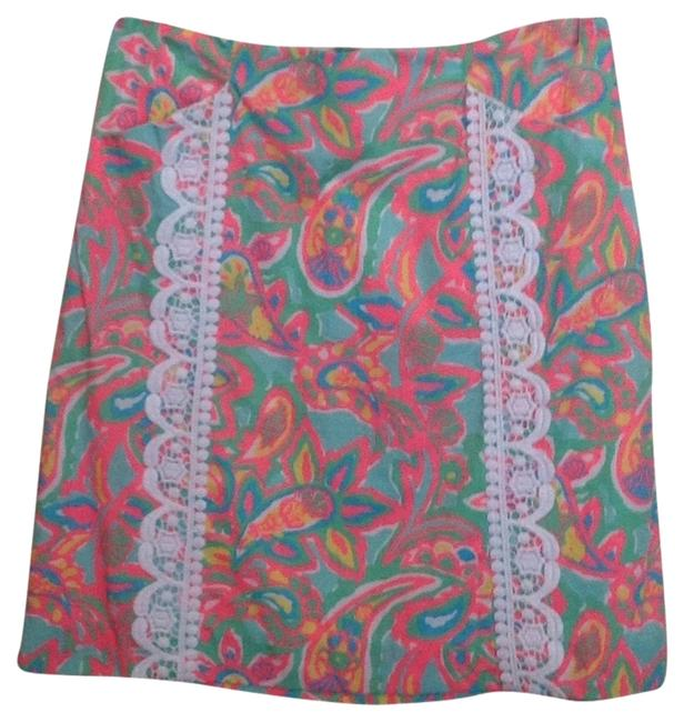 Lilly Pulitzer Skirt Sand Bar Blu, Make A Splash