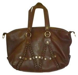 Mulberry Carryall Travel Satchel in Brown