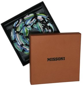 Missoni Long Necklace Belt Wrap Bracelet in Box