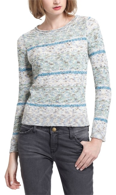 Preload https://item5.tradesy.com/images/anthropologie-blue-sparrow-shimmered-fairisle-sweaterpullover-size-4-s-10258924-0-1.jpg?width=400&height=650