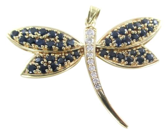 Preload https://item3.tradesy.com/images/gold-14k-yellow-pendant-dragonfly-butterfly-9-diamonds-25-carat-66-grams-jewel-charm-10259422-0-1.jpg?width=440&height=440