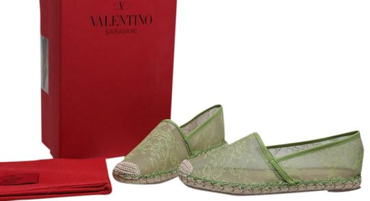 Preload https://item4.tradesy.com/images/valentino-green-mesh-and-lace-espadrille-trimmed-flats-size-us-75-regular-m-b-10259608-0-1.jpg?width=440&height=440