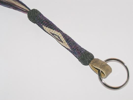 Other BOG Free Hitched Horse Hair Key Chain Ring Free Shipping