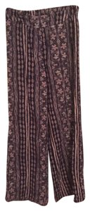 Charlotte Russe Wide Leg Pants Purple