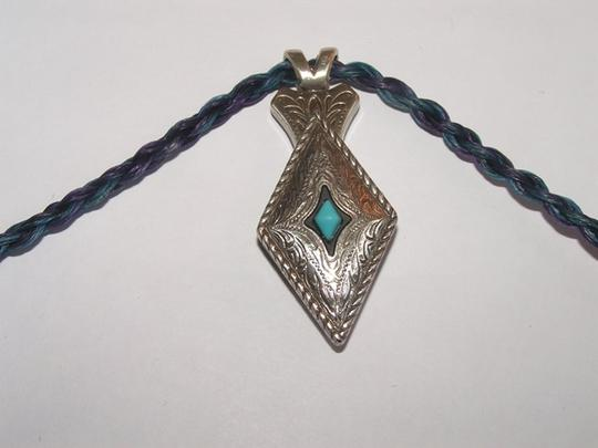 Silver/Blue/Purple Bogo Free Your Choice Of Any 2 Items Hitched Horsehair Necklace