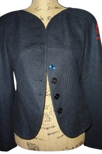 Valentino Linen Midnight Blue Jacket