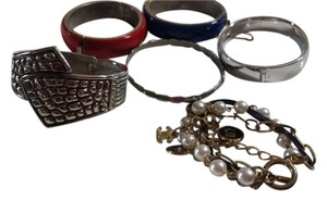 Other 6 fashion bracelets and 4 rings!