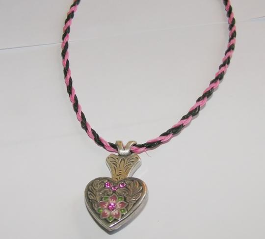Preload https://item5.tradesy.com/images/pinkblack-bogo-free-hitched-horsehair-free-shipping-necklace-10260994-0-0.jpg?width=440&height=440