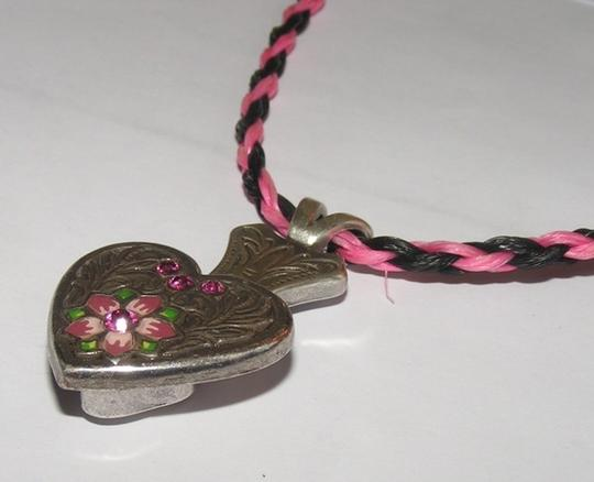 Pink/Black Bogo Free Hitched Horsehair Free Shipping Necklace