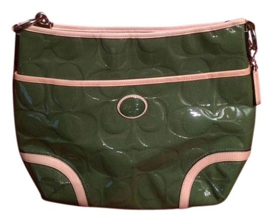 Preload https://item3.tradesy.com/images/coach-embossed-green-patent-leather-cross-body-bag-10261447-0-1.jpg?width=440&height=440