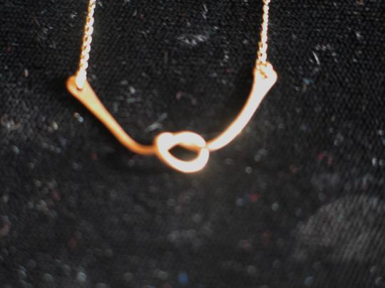 Other Love Knot Necklace - 14K Gold - 18