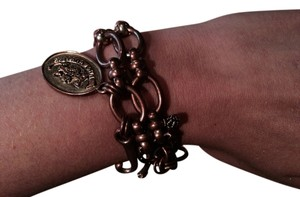 Juicy Couture Juicy Couture Rose Gold Bracelet With Box