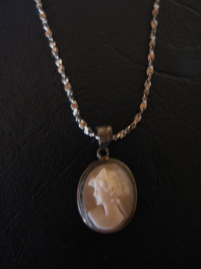 Other Necklace Cameo, Hand Carved - 16