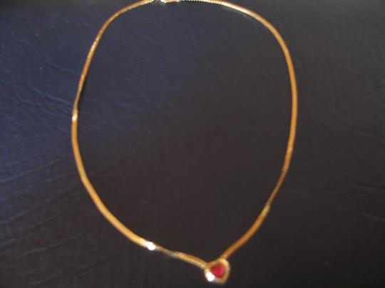 Other Red Heart encased in Gold Frame -Costume - 18