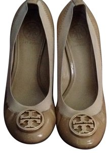 Tory Burch Nude/tan Wedges