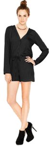 Bar III Romper Button-front Dress