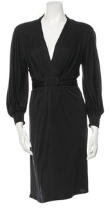ISSA London short dress Black Dvf Diane Von Furstenberg on Tradesy