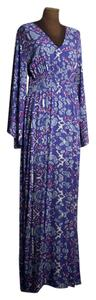 blue/purple multi Maxi Dress by ViX Maxi Resort Summer
