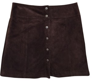 Gap Mini Skirt Brown