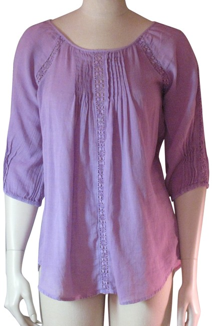 Preload https://item3.tradesy.com/images/nine-west-dewberry-purple-lilac-evi-lilac-hippy-shirt-blouse-size-2-xs-1026267-0-1.jpg?width=400&height=650