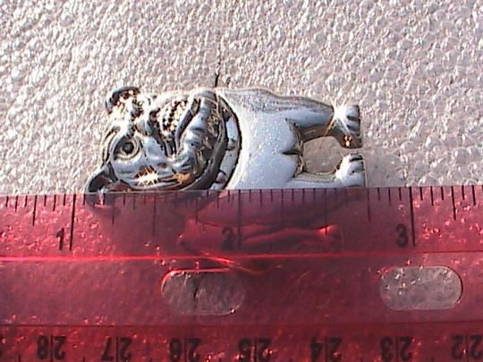Other Bulldog Brooch & Clip On Earrings Set (#162)